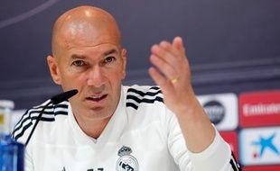 Zinédine Zidane a défendu son fils en conférence de presse.