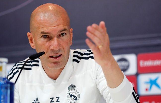 """Real Madrid: """"Je sais ce que je veux avec mon équipe"""", Zidane nie vouloir faire du favoritisme avec son fils"""