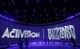Le logo d'Activision Blizzard (illustration)