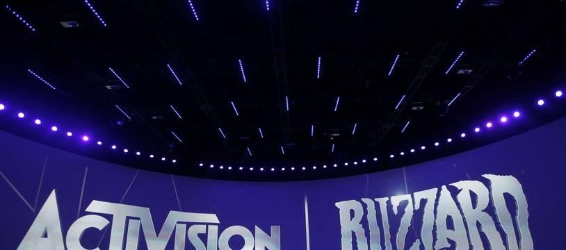 Le logo d'Activision Blizzard (illustration)