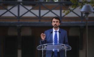 Le maire EELV de Lyon, Grégory Doucet.