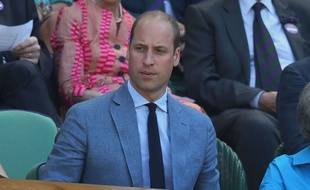 Le prince William à Wimbledon le 15 juillet 2018.