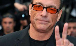 Jean-Claude Van Damme au festival de Cannes, en mai 2010.