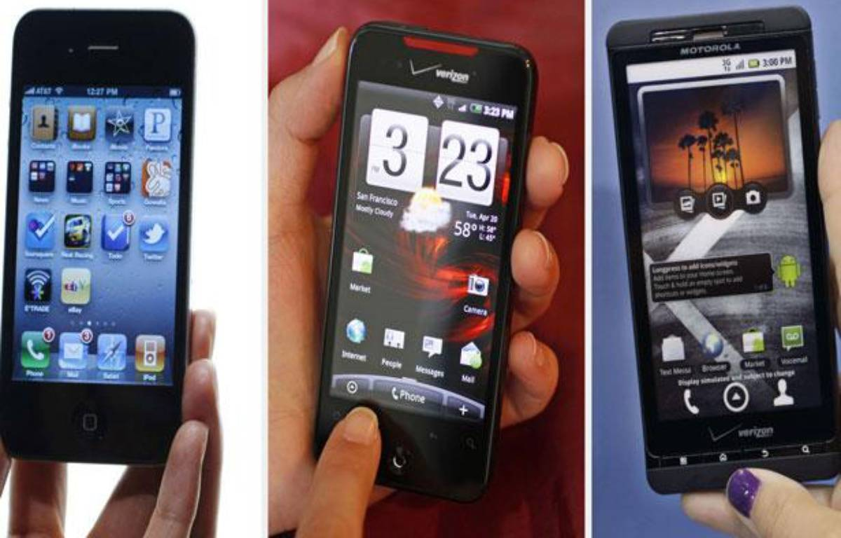 Les smartphones auront le vent en poupe à Noël. – AP/SIPA