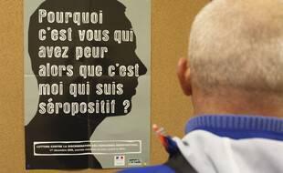 Un centre de dépistage du Sida et des MST à Toulouse.