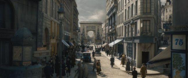 Ce décor est très clairement inspiré de la Porte St Denis, dans le 10ème arrondissement