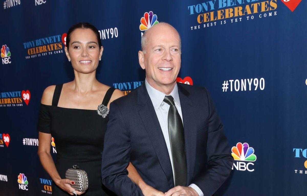 Le couple d'acteurs Emma Heming et Bruce Willis – WENN