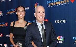 Le couple d'acteurs Emma Heming et Bruce Willis