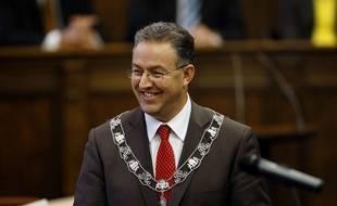 Le maire de Rotterdam, Ahmed Aboutaleb.