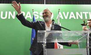 Le candidate de la gauche aux élections en Emilie-Romagne, Stefano Bonaccini.