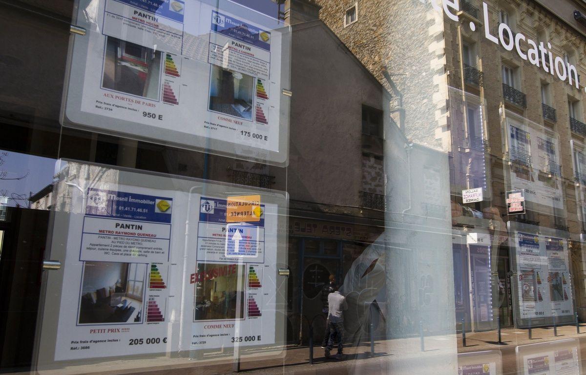 Illustration d'annonces dans une agence immobilière. – A. GELEBART / 20 MINUTES