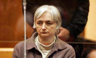 Monique Olivier, femme du tueur en série Michel Fourniret, au tribunal de Charleville-Méziere, le 29 mai 2008