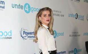 L'actrice Amber Heard à Beverly Hills