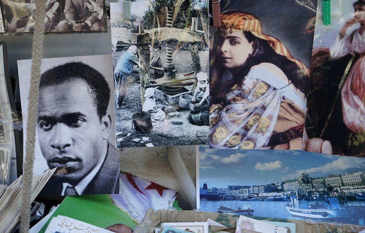 Katia Kameli, L'œil se noie. Photographie tirée du film Le roman algérien – Katia Kameli