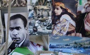 Katia Kameli, L'œil se noie. Photographie tirée du film Le roman algérien
