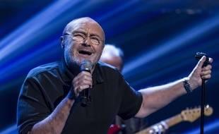 Phil Collins lors d'une émission de télé anglaise en octobre 2016