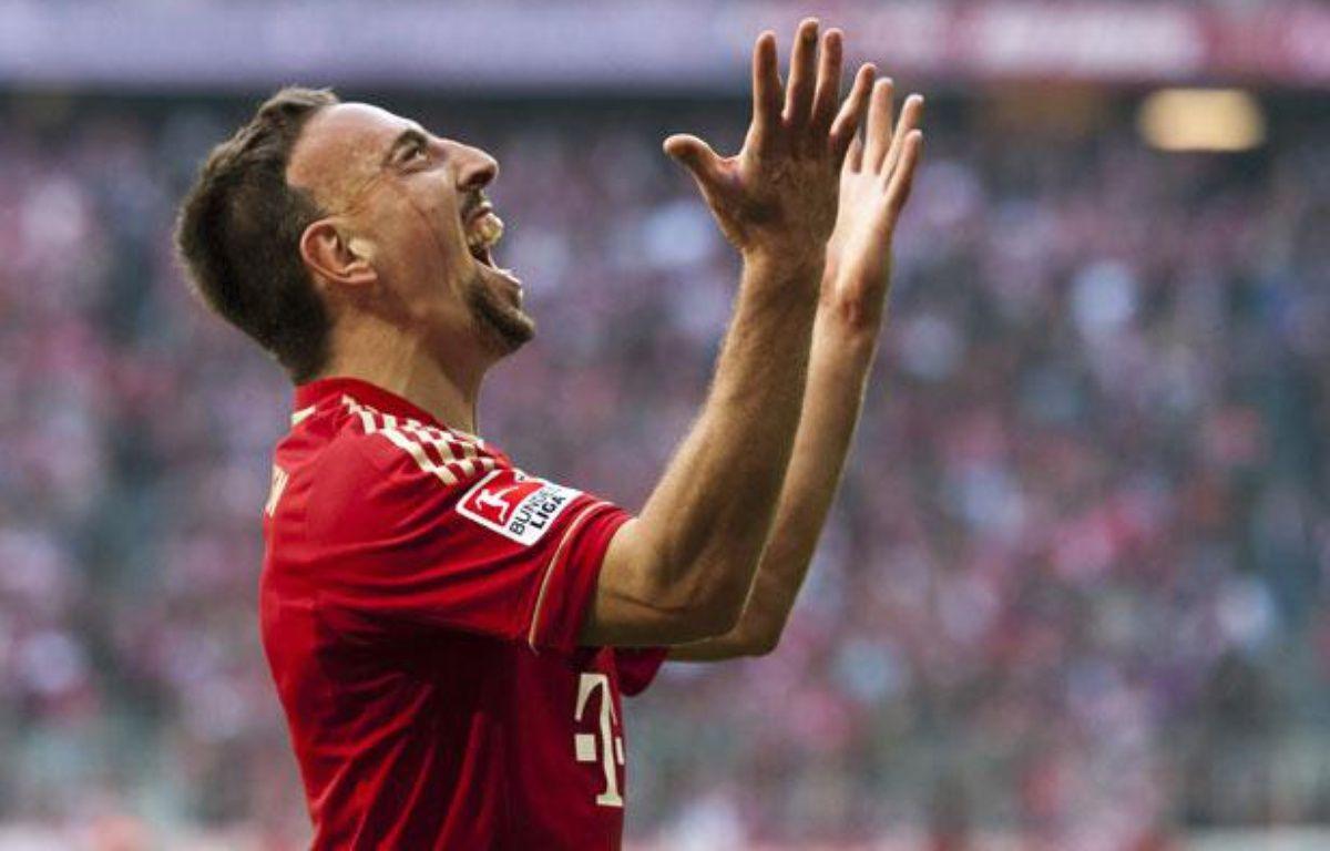 Franck Ribéry à Munich, le 29 octobre 2011. – GUENTER SCHIFFMANN/AFP