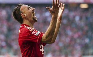 Franck Ribéry à Munich, le 29 octobre 2011.