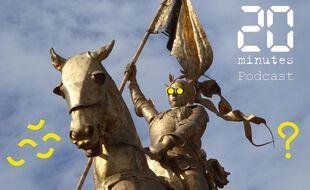 Illustration statue de Jeanne d'Arc