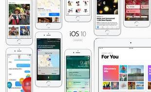iOS 10 sera lancé en septembre 2016.