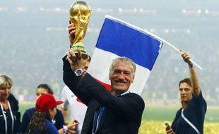 Didier Deschamps a mené les Bleus jusqu'à la victoire