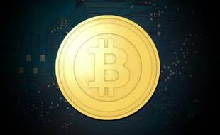 Le Bitcoin, une monnaie virtuelle (illustration).