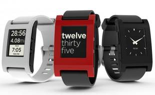 Les smart watches de Pebble servent de satellite au smartphone.