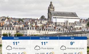 Météo Tours: Prévisions du samedi 9 février 2019