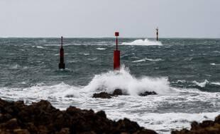 Photo d'illustration de la Manche, au large des côtés françaises.