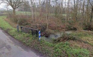 Le ruisseau du Quincampoix traverse la commune de Melesse au nord de Rennes.