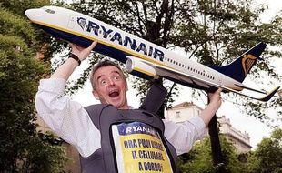 Le PDG de Ryanair, Michael O'Leary, le 12 mai 2009 à Rome, en Italie