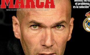 La une du quotidien sportif Marca, le 5 janvier 2014.