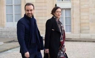 Sébastien Lecornu et Emmanuelle Wargon, les deux membres du gouvernement qui ont coordonné le grand débat national.