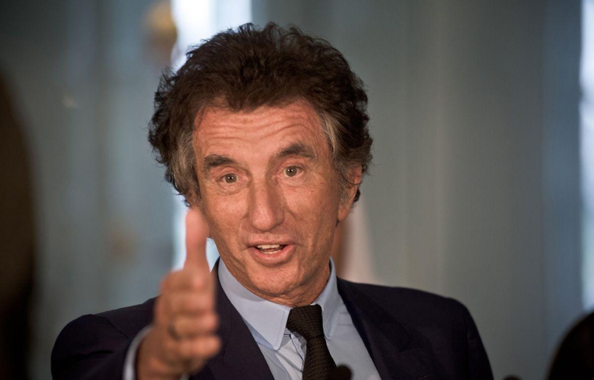 Jack Lang, le 26 juin 2014, à l'Institut du Monde Arabe, à Paris. – NICOLAS MESSYASZ/SIPA