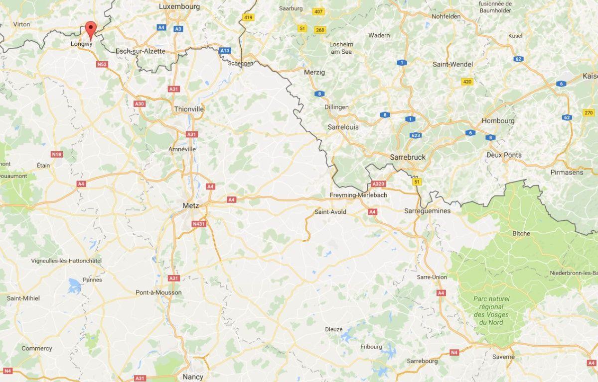 Les faits se sont produits à Herserange, non loin de la frontière luxembourgeoise. – Capture d'écran / Google Maps.