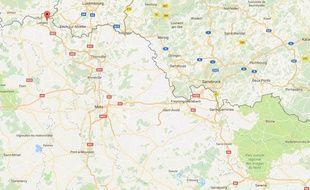 Les faits se sont produits à Herserange, non loin de la frontière luxembourgeoise.