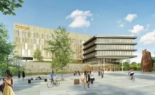 Le nouveau campus d'Orange doit être livré au troisième trimestre 2019.