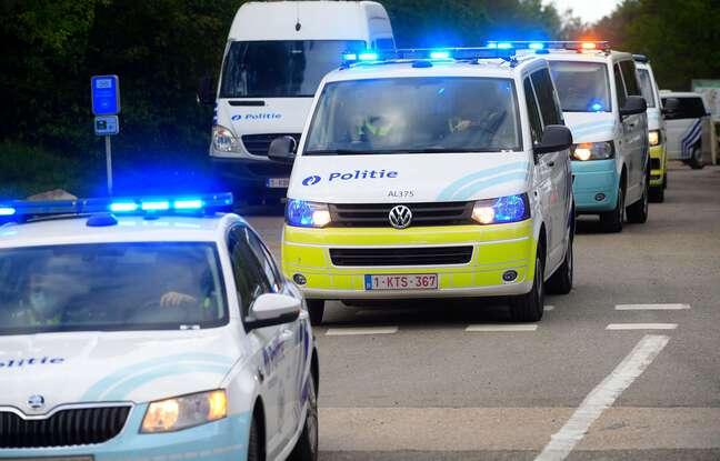 648x415 des voitures de la police belge illustration
