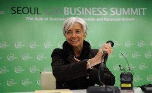 Christine Lagarde, lors de la conférence du G20 à Séoul le 11 novembre dernier.