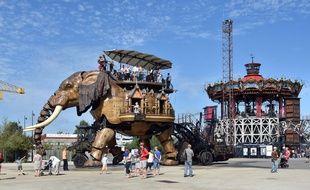 Le Grand éléphant des Machines de l'île est au repos jusqu'au 7 février.