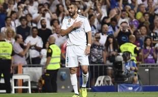 Karim Benzema a prolongé son contrat au Real Madrid jusqu'en 2022, le 20 septembre 2017.
