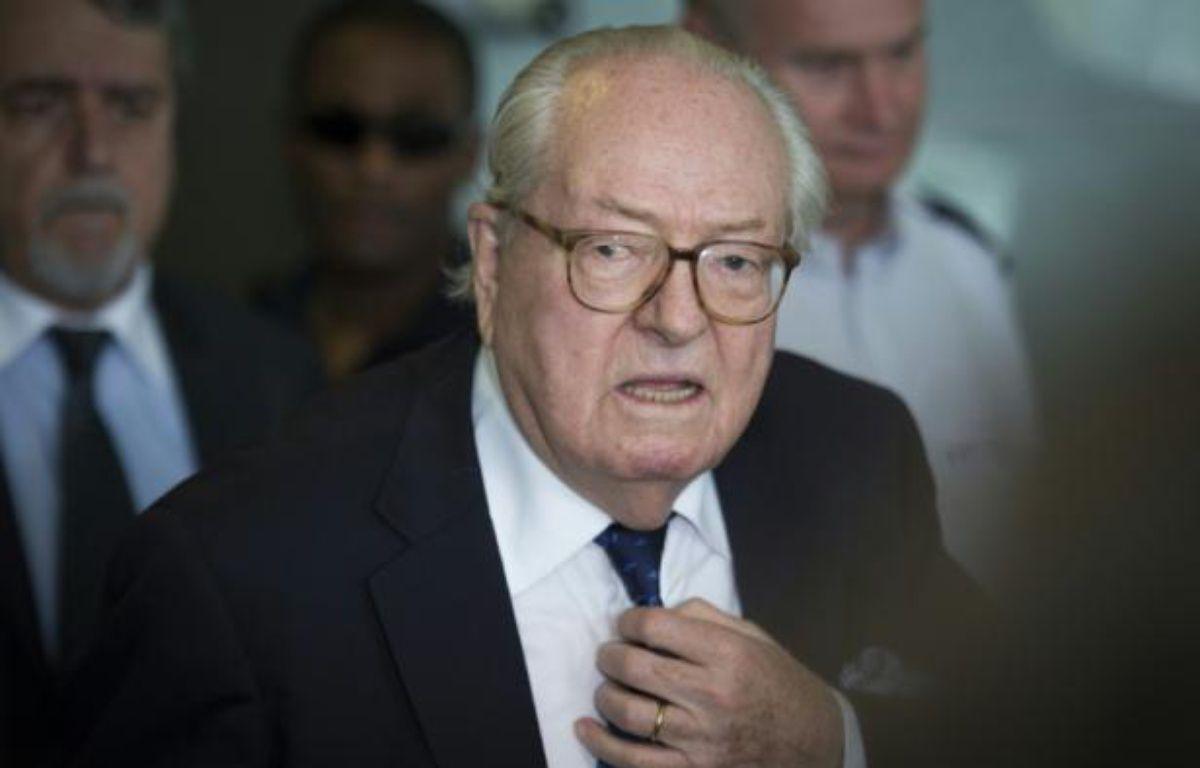 Jean-Marie Le Pen le 12 juin 2015 à Nanterre – MARTIN BUREAU AFP