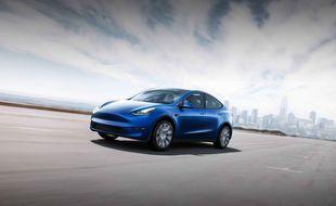 Le Model Y de Tesla, un crossover électrique, sera lancé en 2020.
