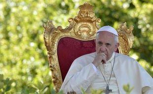 Le pape François à Castelpetroso, le 5 juillet 2014