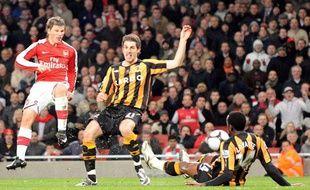 Le Russe Andrei Archavine lors du quart de finale de Coupe d'Angleterre entre Arsenal et Hull City, le 17 mars 2009.