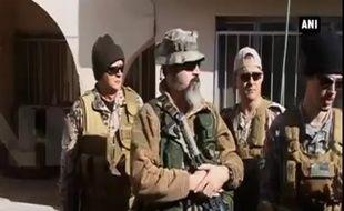 Des ex-soldats occidentaux qui ont rejoint une milice en Irak pour combattre Daesh.