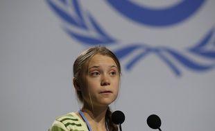 Greta Thunberg à la Cop 25