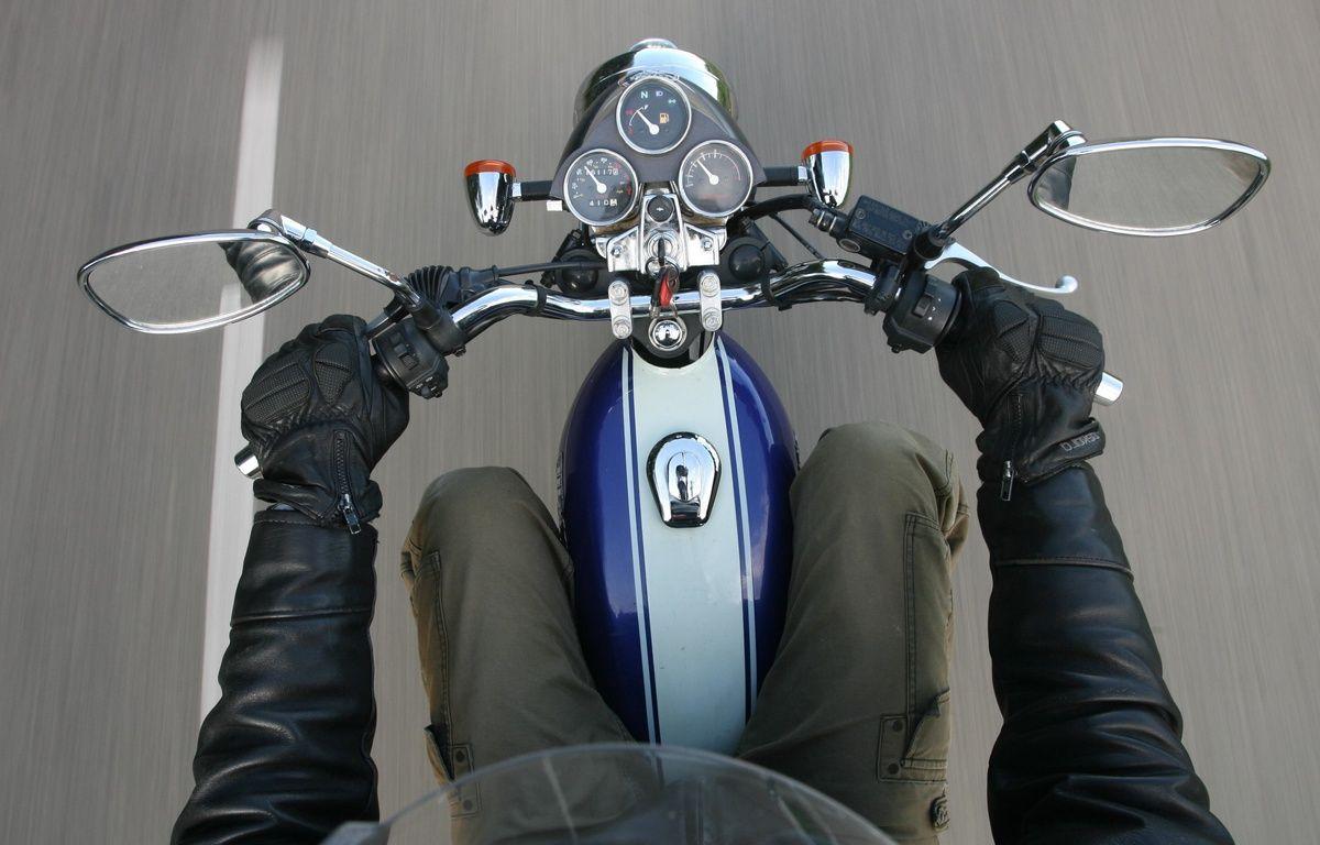 Illustration d'une moto. – A. GELEBART / 20 MINUTES