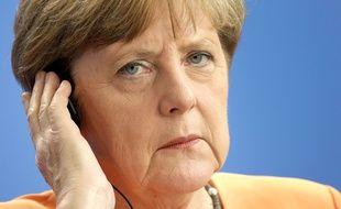 La chancelière allemande Angela Merkel à Berlin, le 1er juillet 2015.