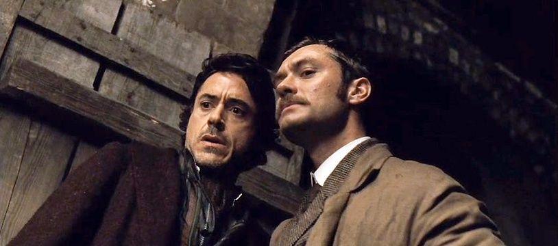 Image extraite du film «Sherlock Holmes» en 2009.